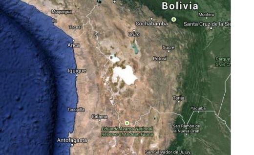 Blog Map Triplice fronteira