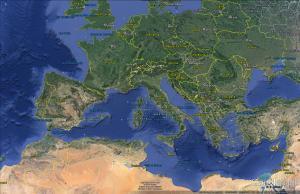 Europa espanha Turkia e portugal