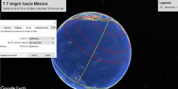 70 dias de plazo entre Mexico y los sitios Nueva Zelanda o Japón 2 velocidad de 154km dia con una distancia de 10800km