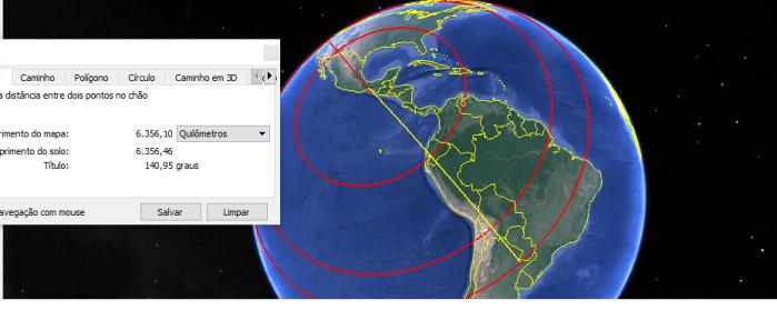 seguindo la idea 10 834 km distancia N Zelanda dentre de un rayo con 154km dia plazo hablado en la tele 70 dias despois del evento de mexico