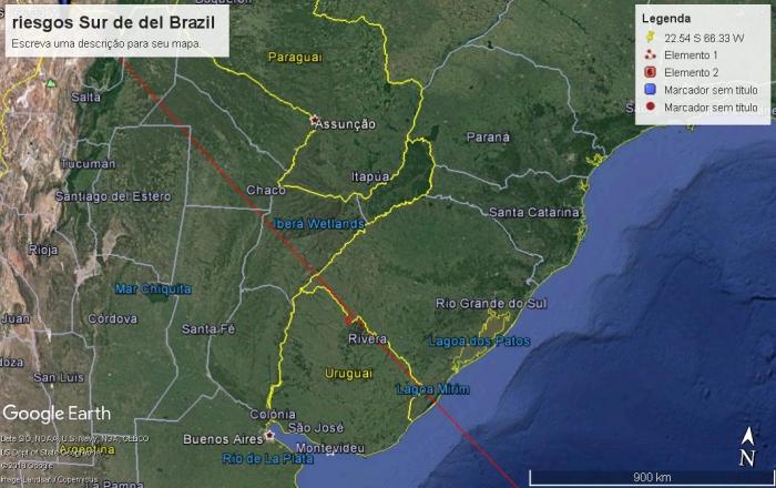 63 el el camino sur de Brazil